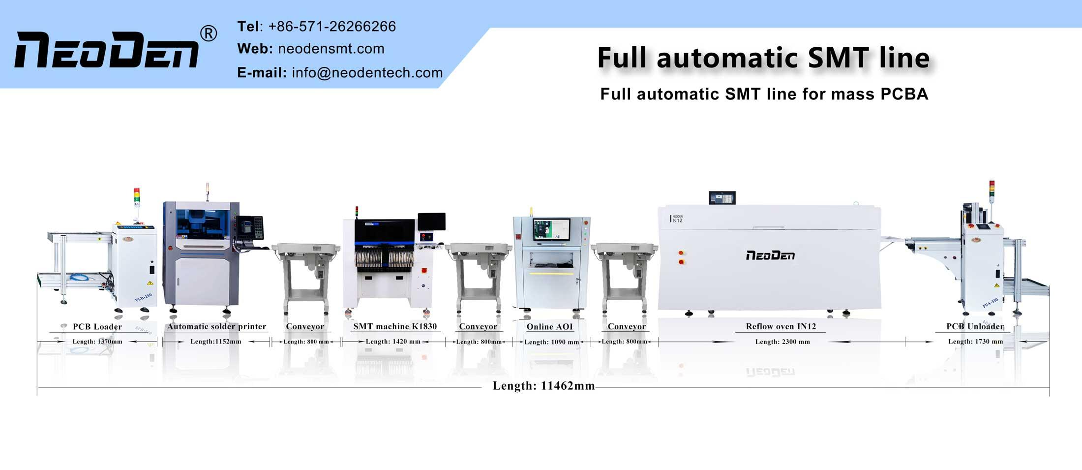 full auto SMT production line